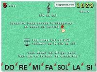 Happy Note Tetris