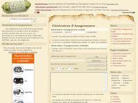 Dcode Générateur d'anagramme