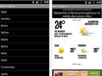 Météo Algérie Android