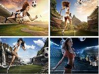 Calendrier sexy Coupe du Monde 2014