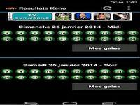 Resultats Keno