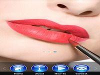 Tutoriels lèvre de maquillage