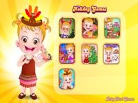 Baby Hazel Holiday Games