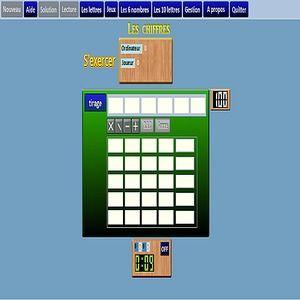 t l charger le jeu des chiffres et des lettres gratuit le logiciel gratuit. Black Bedroom Furniture Sets. Home Design Ideas