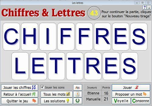 Telecharger Chiffres et Lettres