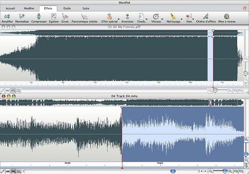 Telecharger WavePad - Logiciel d'édition audio pour Mac v.6.60