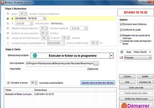 Telecharger Windows Shutdown Assistant