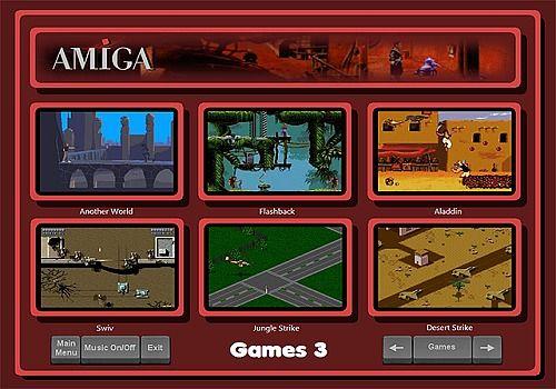 Telecharger Amiga Arcade Launcher