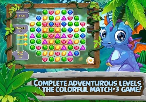 Telecharger 3 Bonbons:  gemmes et dragons