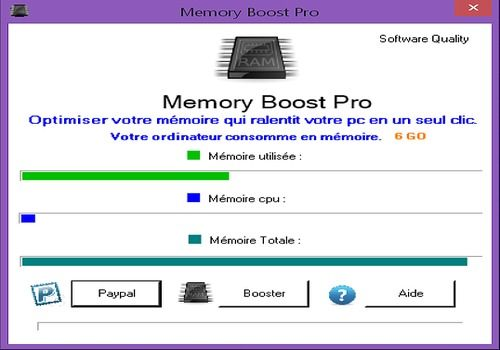Telecharger Memory Boost Pro