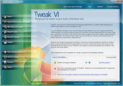 Telecharger Tweak VI