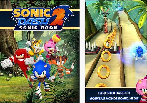 Telecharger Sonic Dash 2 : Sonic Boom iOS