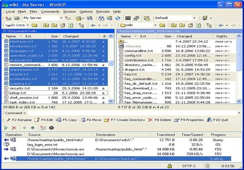 Telecharger WinSCP