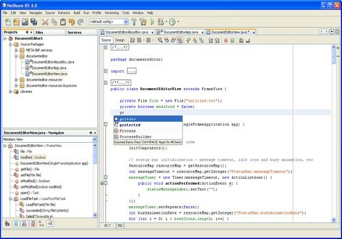 Telecharger NetBeans IDE