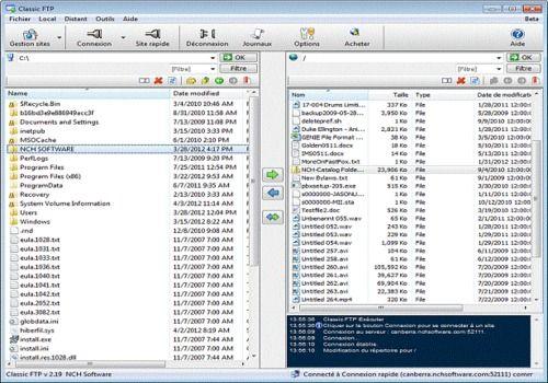Telecharger Classic FTP - Logiciel de transfert de fichiers