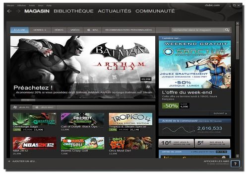 Telecharger Steam