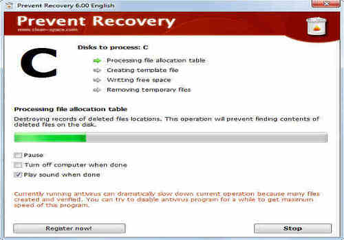 Telecharger Prevent Recovery