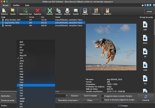 Telecharger Pixillion - Convertisseur d'images gratuit pour Mac