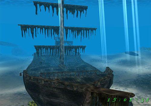 Telecharger Pirate Ship 3D Screensaver