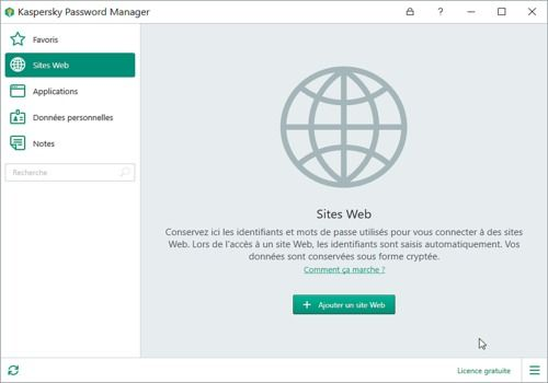 Telecharger Kaspersky Password Manager