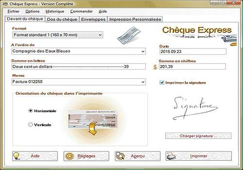 Telecharger Chèque-Express Canada