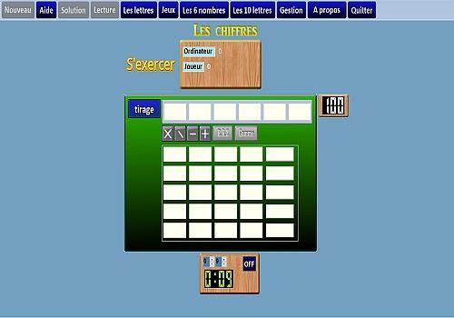 Telecharger Le jeu des chiffres et des lettres
