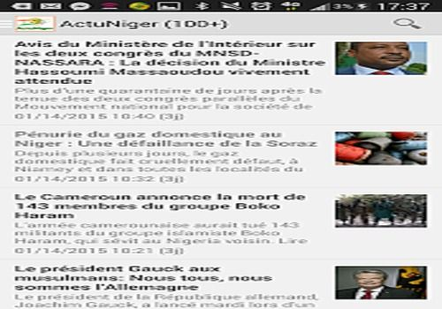 Telecharger Actu Niger