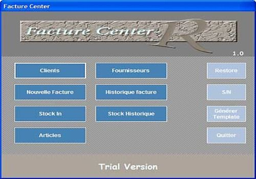 Telecharger FactureCenter
