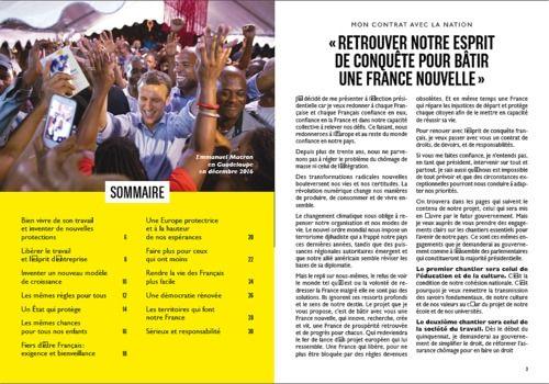 Telecharger Programme Emmanuel Macron - Présidentielle 2017