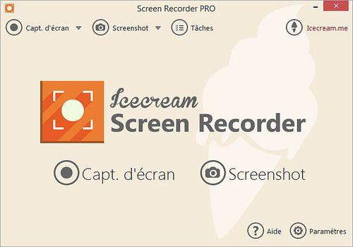 Telecharger Icecream Screen Recorder 5.77