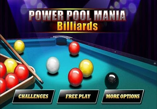 Telecharger Power Pool Mania - Billiards