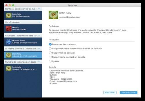 Telecharger Cisdem ContactsMate pour Mac