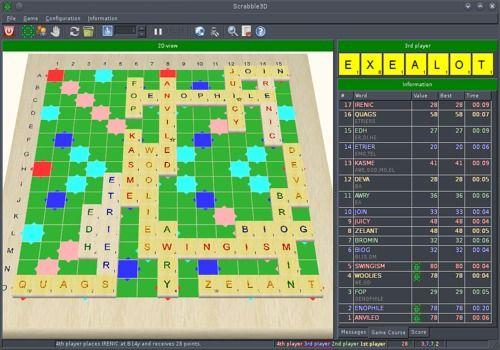 Telecharger Scrabble 3D mac