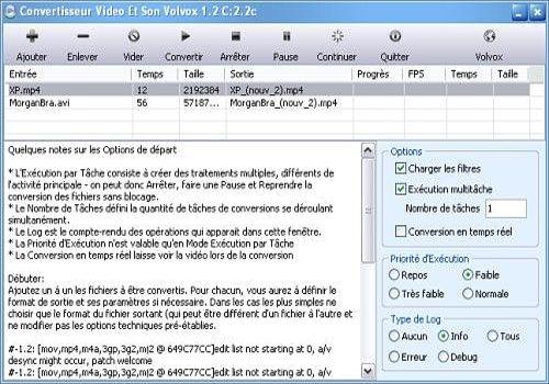 Telecharger CVSV Conversion Vidéo et Son Volvox