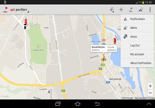 Telecharger GetPosition - GPS tracking