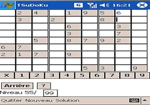 Telecharger Tactile SuDoKu