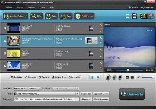 Telecharger Aiseesoft WTV Convertisseur