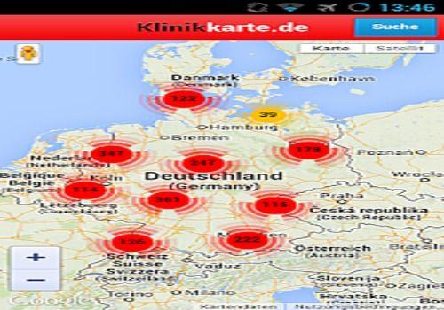 Telecharger Klinikkarte.de - Klinikportal