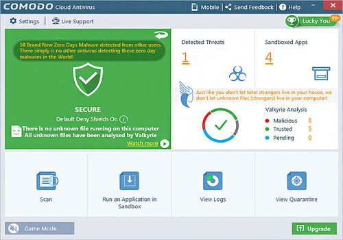 Telecharger Comodo Cloud Antivirus