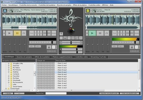 Telecharger Zulu - Logiciel de DJ gratuit