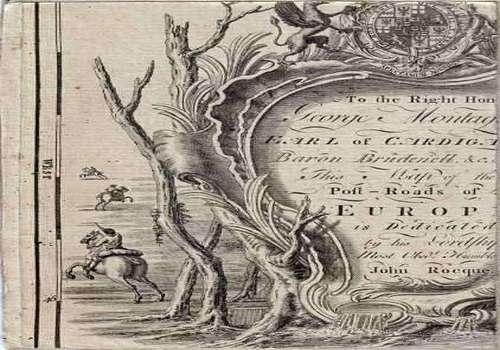 Telecharger Carte générale des Postes de l'Europe 1781