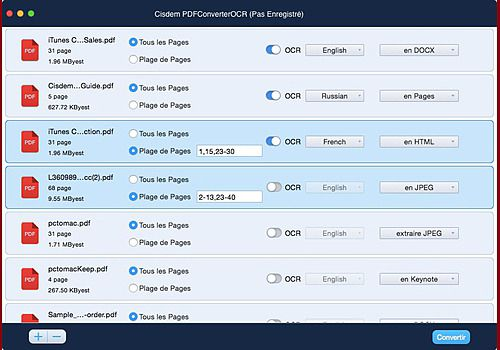 Telecharger Cisdem PDFConverterOCR pour Mac