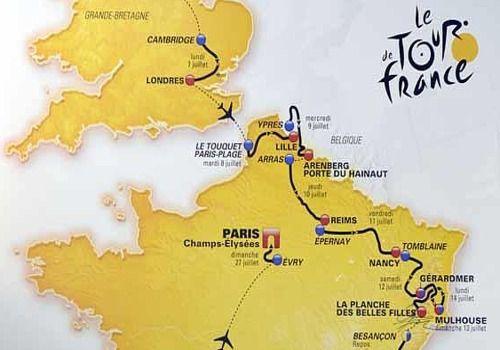 Telecharger Le tracé du tour de France 2014