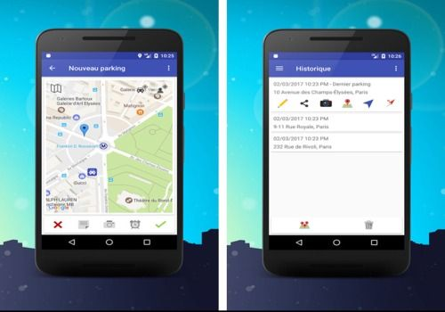 Telecharger Parking, localiser ma voiture Android