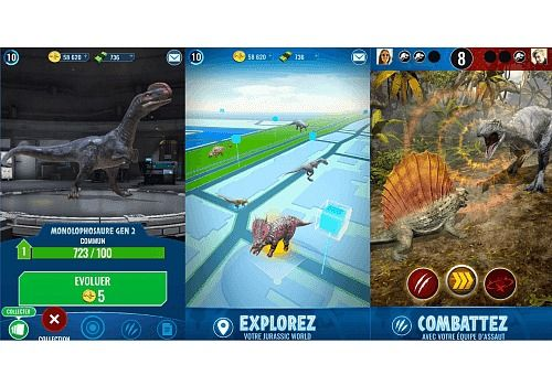 Telecharger Jurassic World : Alive iOS