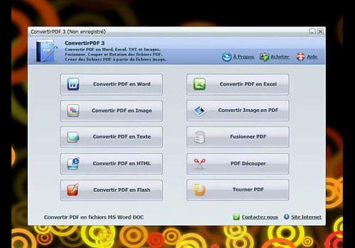Telecharger Convertir PDF