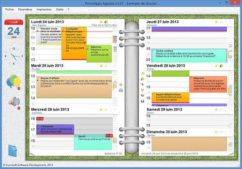 Telecharger PersoApps Agenda