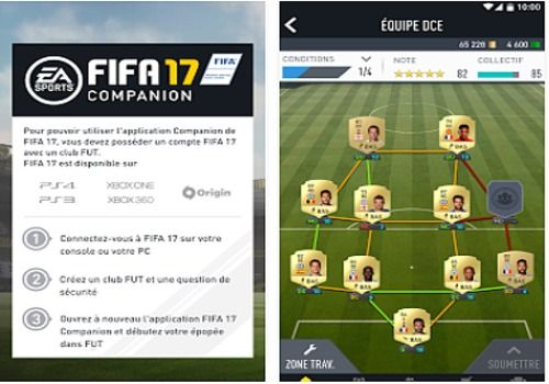 Telecharger FIFA 17 Companion Android
