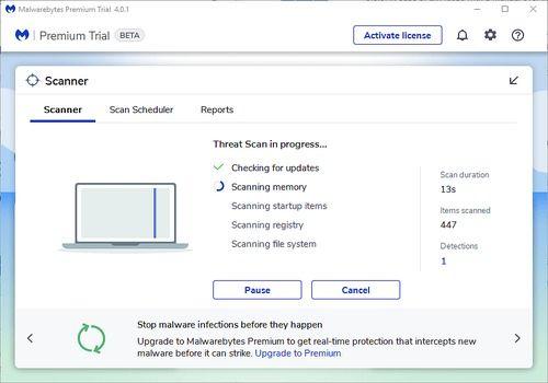 Telecharger Malwarebytes Anti-Malware