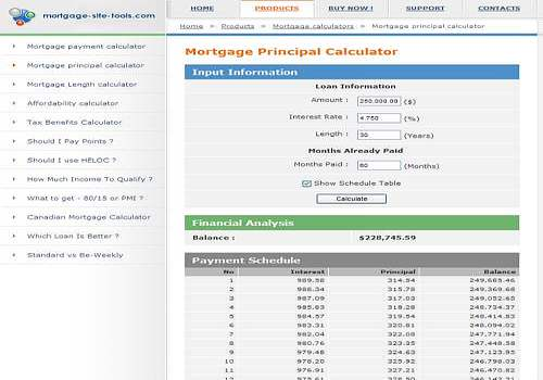 Telecharger Mortgage calculators collection